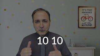 10 10!