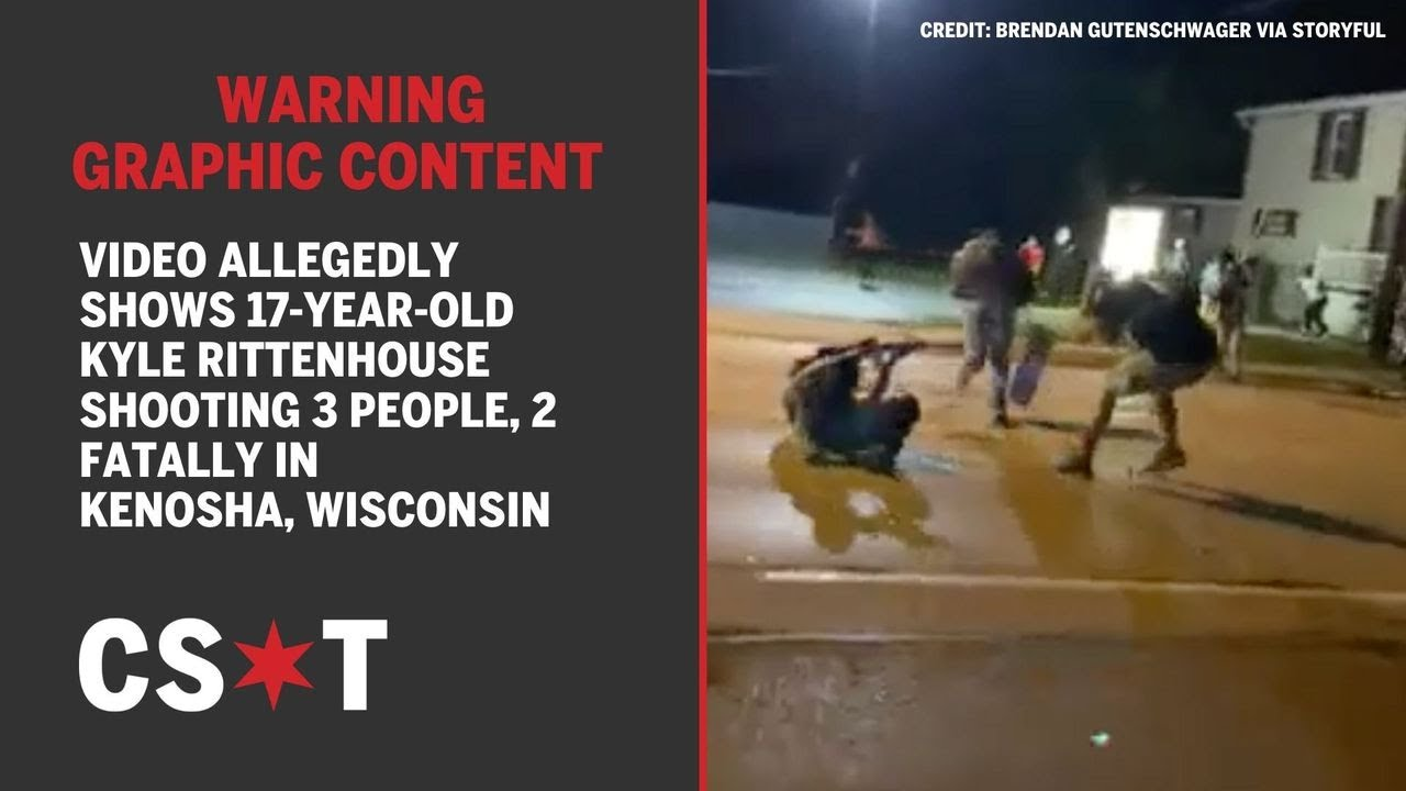 Download GRAPHIC: Video allegedly shows 17-year-old Kyle Rittenhouse shooting 3 people, 2 fatally in Kenosha