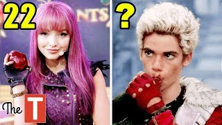 Descendants 2 Stars From Oldest To Youngest