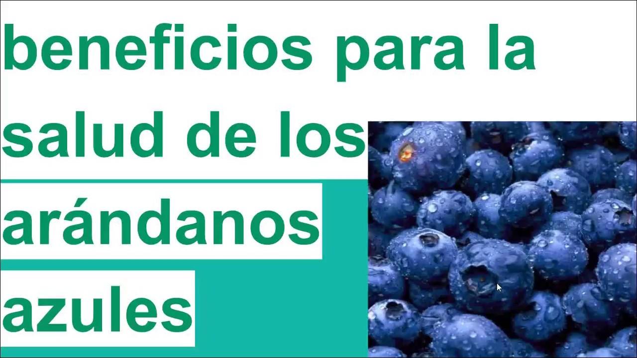 arándanos azules beneficios para la salud