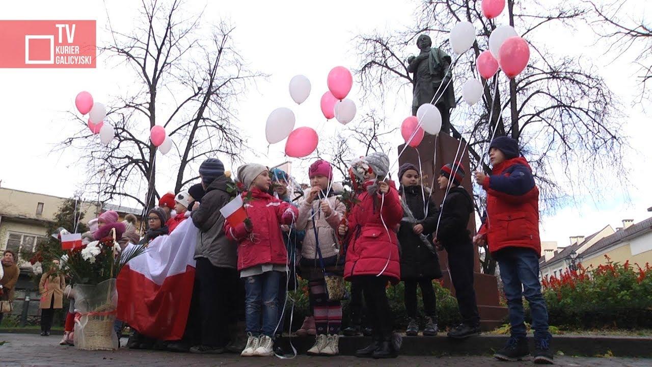 Obchody 99. rocznicy Niepodległości Polski w Stanisławowie