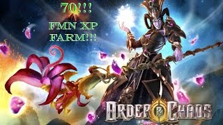 Farming FMN - Hitting 70 On My Monk - Order & Chaos Online