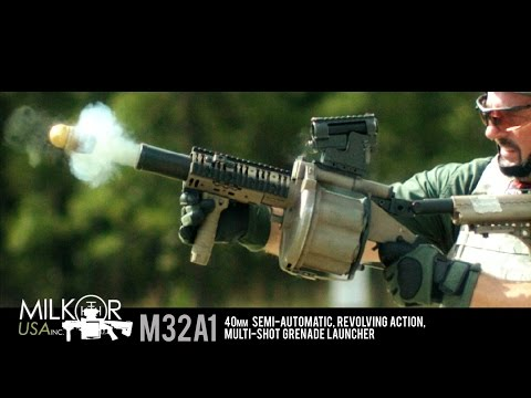 Six Times the Boom!!! The Milkor M32A1 Grenade Launcher