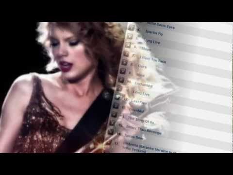 Very Best Taylor Swift Live MP3 Songs and Extras! Taylor Swift Live Performance...