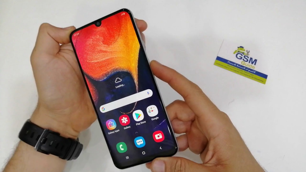 Screenshot Samsung A50