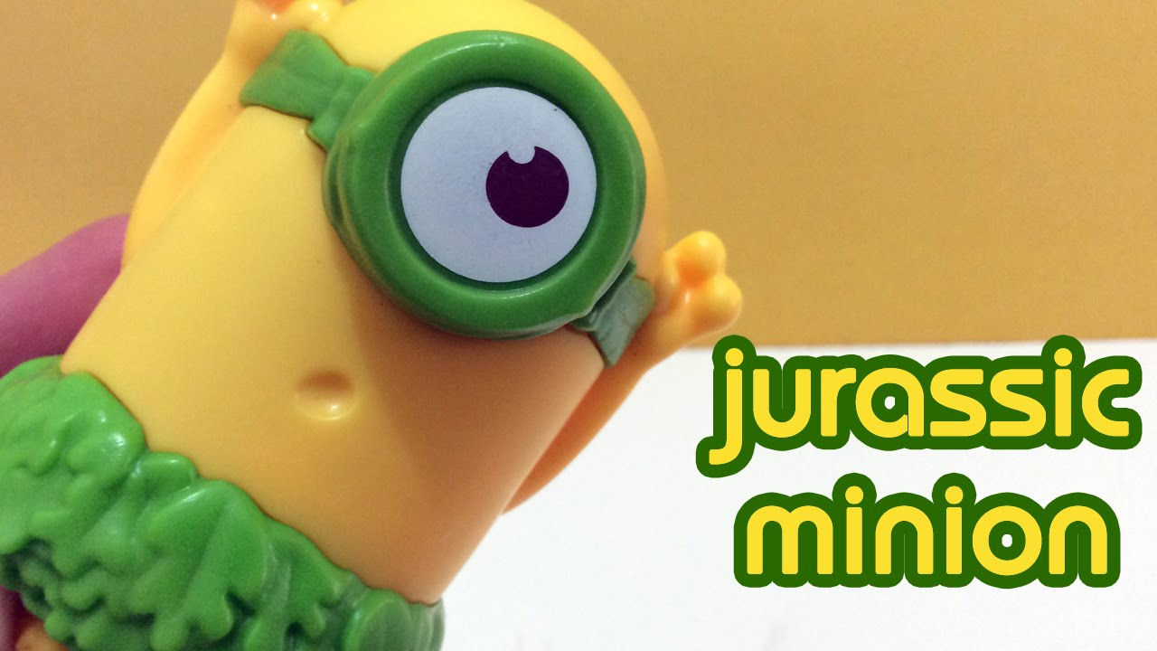 minions mcdonald s happy meal toys jurassic minion minions mcdonald s happy meal toys 2015 jurassic minion