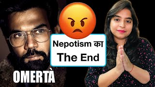 Omerta Movie REVIEW | Deeksha Sharma
