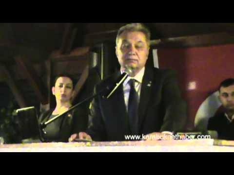 CHP Gecesinde Mustafa Eren'in Konuşması