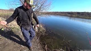 ИДЕАЛЬНАЯ БЕРЕГОВАЯ РЫБАЛКА! РЫБА ЕСТЬ! Ловля на спиннинг 2020. Рыбалка на донку весной.