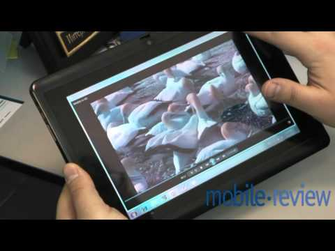 Acer Iconia W500 Tablet Demo