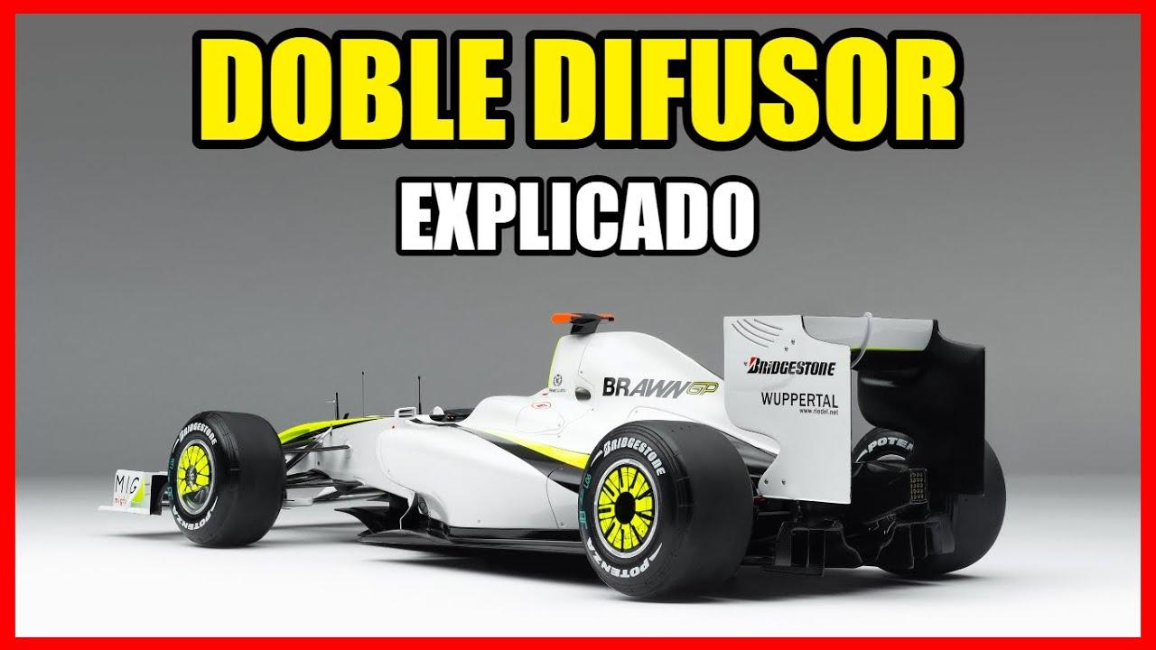 DOBLE DIFUSOR de BRAWN GP 🔥: EXPLICADO ¿Qué es y Cómo funciona? 🛑   Aerodinámica Formula 1 *F1 2009*