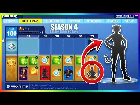 SEASON 4 BATTLE PASS Details! | Release Date, Skin Theme & More! ( Fortnite Update )