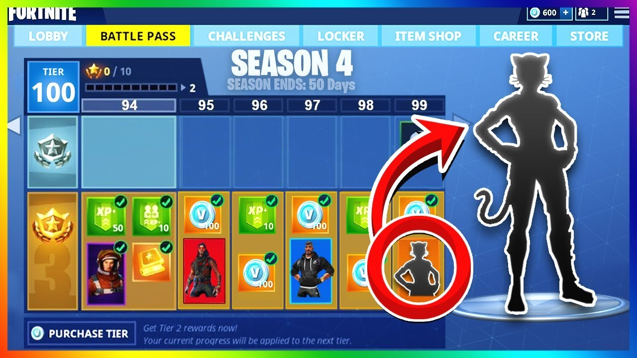 season 4 battle pass details release date skin theme more fortnite update - fortnite season 4 start date