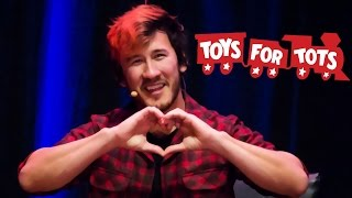 Markiplier's December Charity Livestream - Toys for Tots