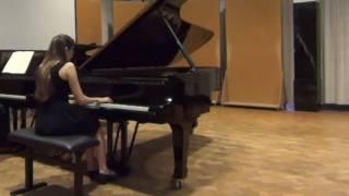 """Ravel - Piano Concerto in G, beginning of """"Adagio assai"""""""