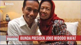 Jokowi Sebutkan, Ibu Sudah empat tahun sakit kanker.
