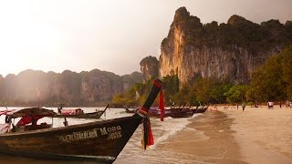EPIC DAY IN RAILAY THAILAND!