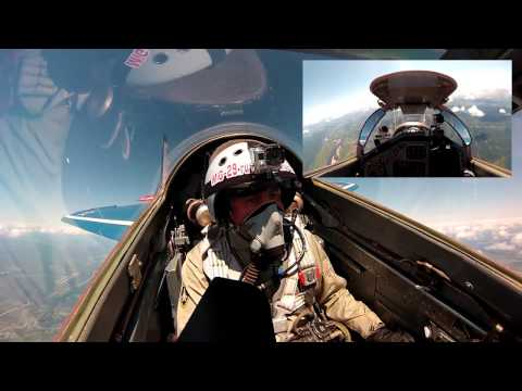 British celebrate his 50th Anniversary by flying in MiG-29 into the Stratosphere! July 2015