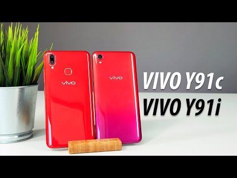 Обзор бюджетных смартфонов Vivo Y91C и Y91i