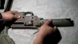 How to install a Magpul PTS UBR Stock on an airsoft AEG M4 style rifle.