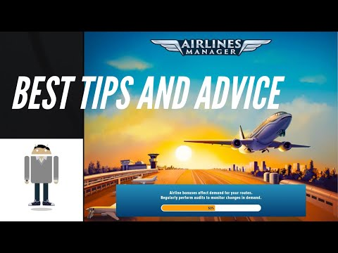 Airlines Manager Tycoon 2018- Best Tips and Advice (1/4)