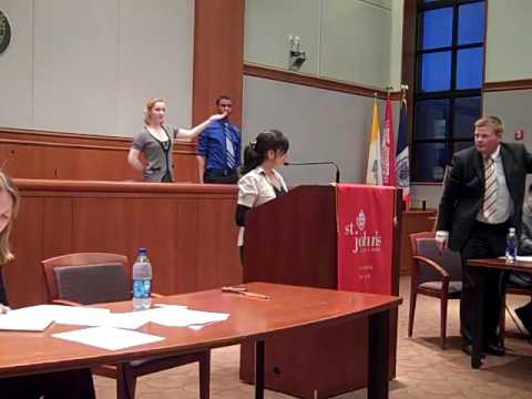 St  John's University Debate vs  Irish Times National Champions