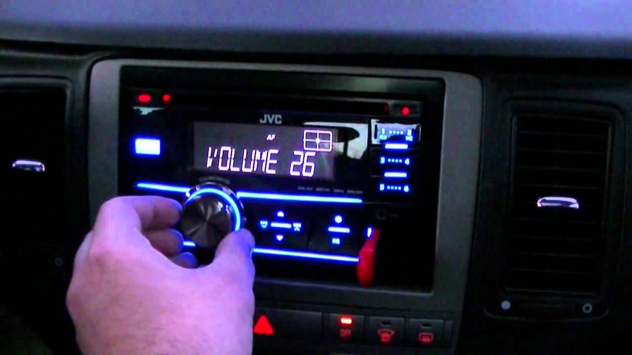 Jvc Kw R400 Su Lancia Musa Youtube