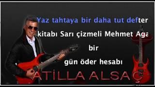Atilla Alsac Yaz Dostum Karaoke