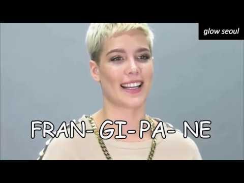 BTS PRONOUNCE ASHLEY NICOLETTE FRANGIPANE (Halsey) [CRACK]