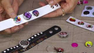 Decorating Snap Buttons for your Snap Jewelry