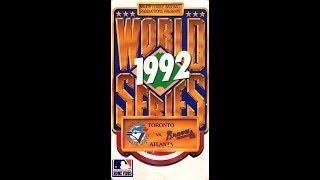 1992 World Series Blue Jays vs. Braves (1992)