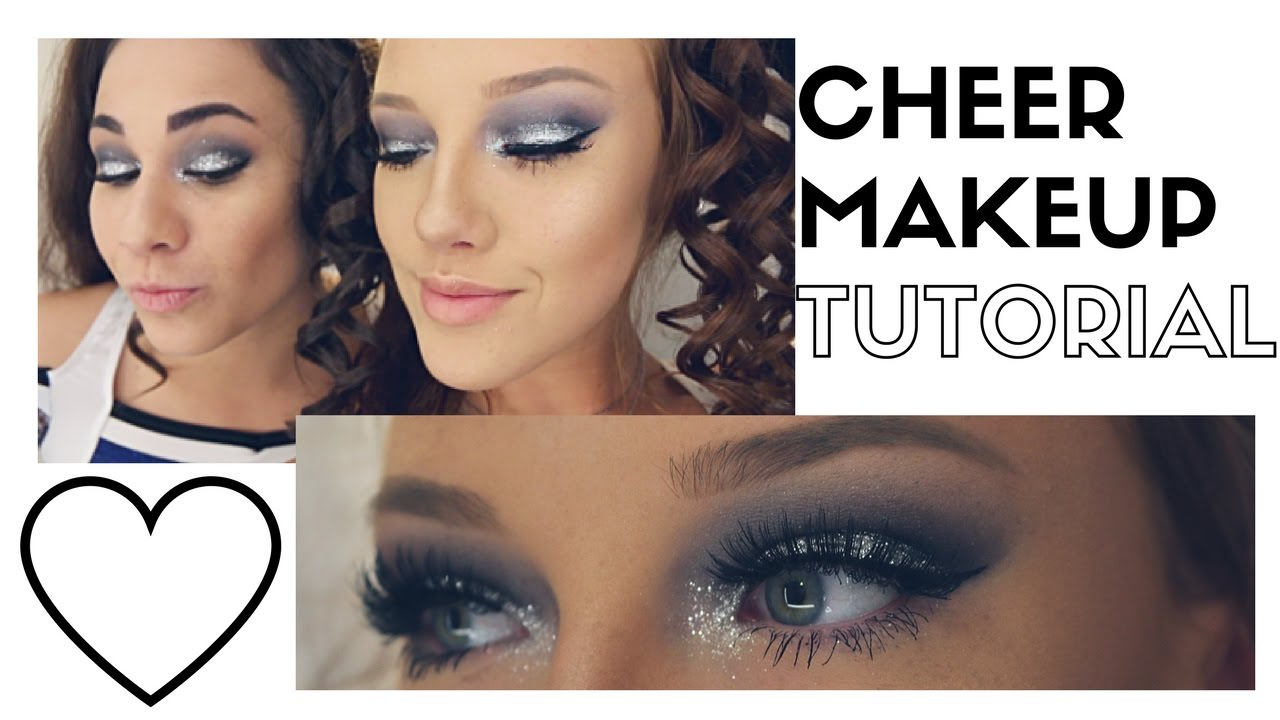 Cheer makeup tutorial youtube baditri Image collections