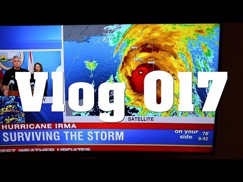 Surviving Hurrican Irma - What i do before the storm