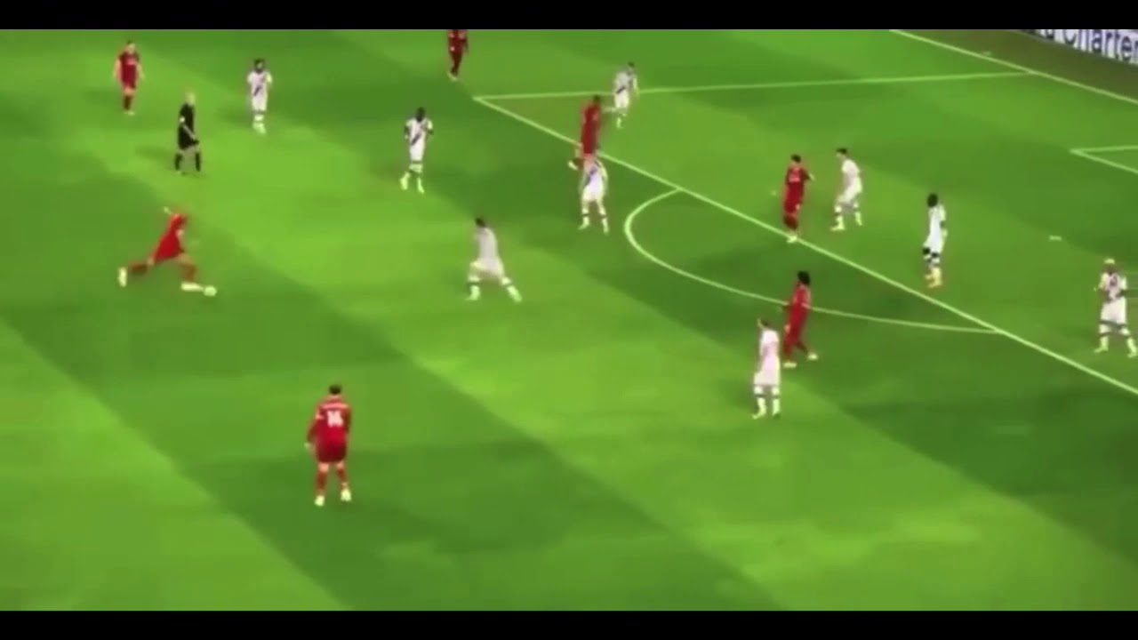 Fabinho what a hit , Liverpool vs Crystal Palace - YouTube