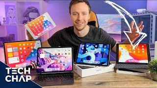 iPad Buying Guide! [Mini vs iPad vs Air vs Pro] | The Tech Chap