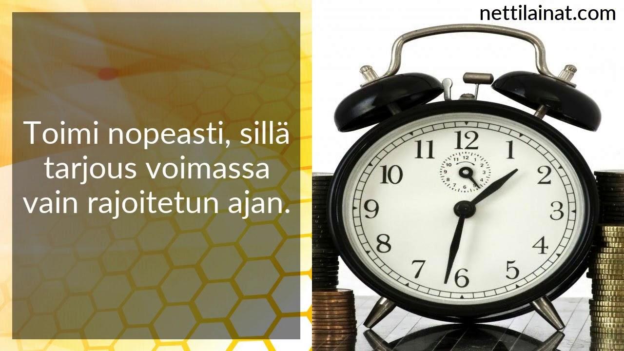 pikavippi ilman luottotietoja suomi24