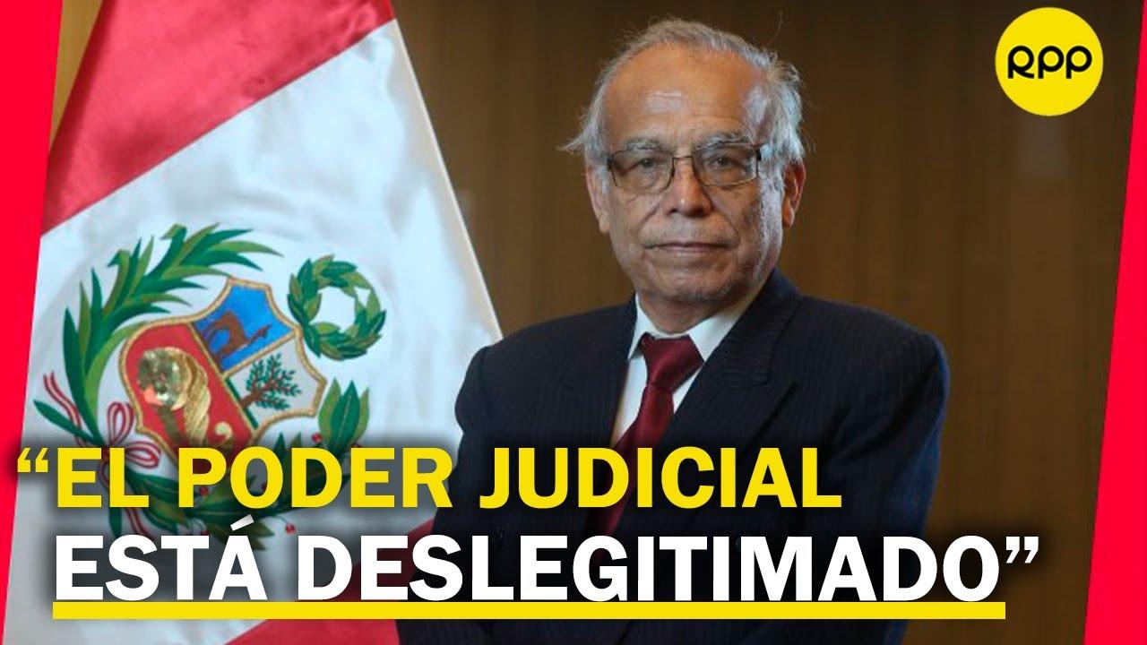 Aníbal Torres: No dejarán trabajar al gobierno de Castillo. Buscarán cualquier pretexto para vacarlo