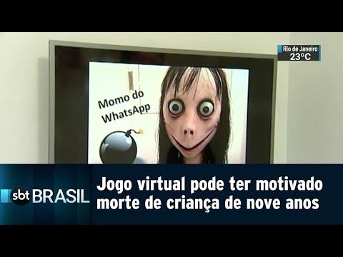 Jogo virtual pode ter motivado morte de criança de nove anos | SBT Brasil (30/08/18)
