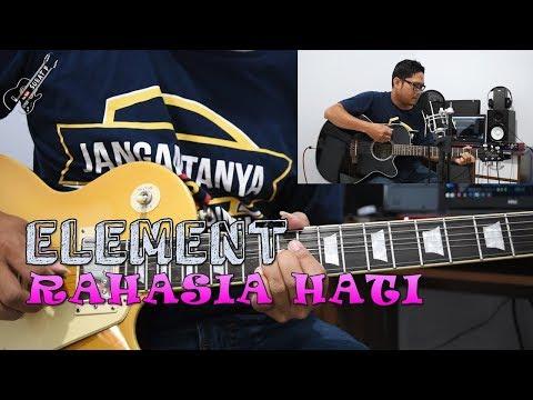 Tutorial Gitar Melodi Element Rahasia Hati Cocok Untuk Pemula