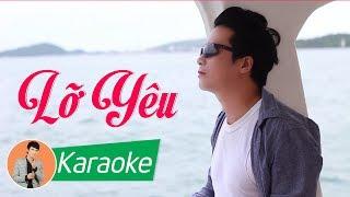 Lỡ Yêu (St. Ngọc Sơn) - Lê Sang [Karaoke Beat MV]