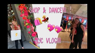 NYC Travel Vlog and Shop With Me Fashion Haul - Pressley Hosbach