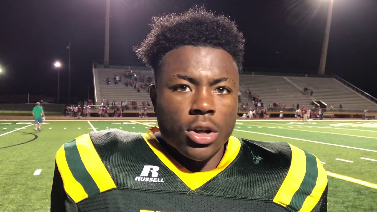 Central Lafourches Deon Jenkins Scores 6 Tds In Win Over Ed White