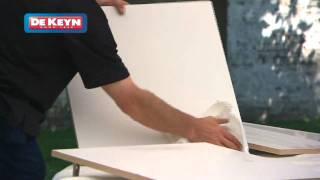 comment réparer éclat sur mélaminé blanc