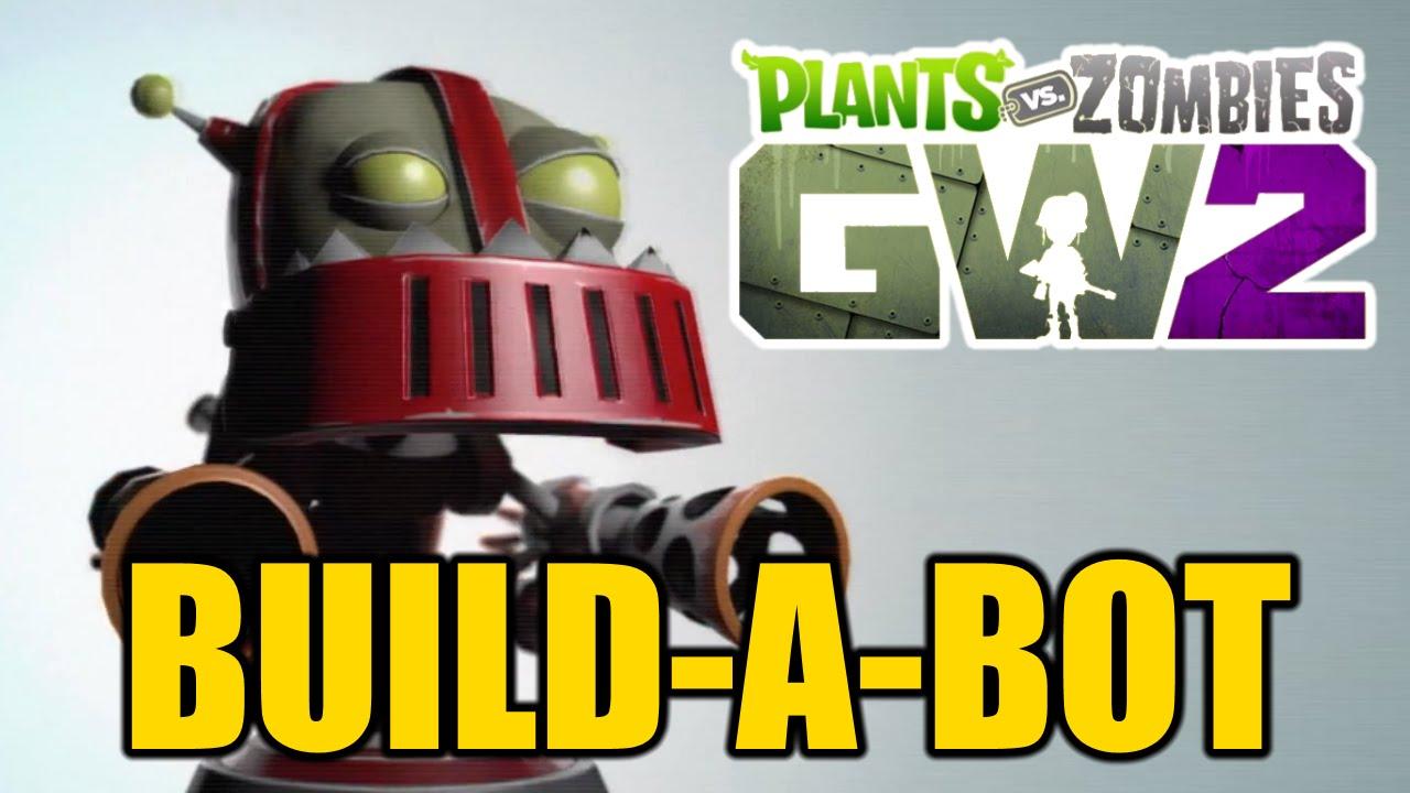 Plants vs zombies garden warfare 2 all known zombie bots for Zombie build