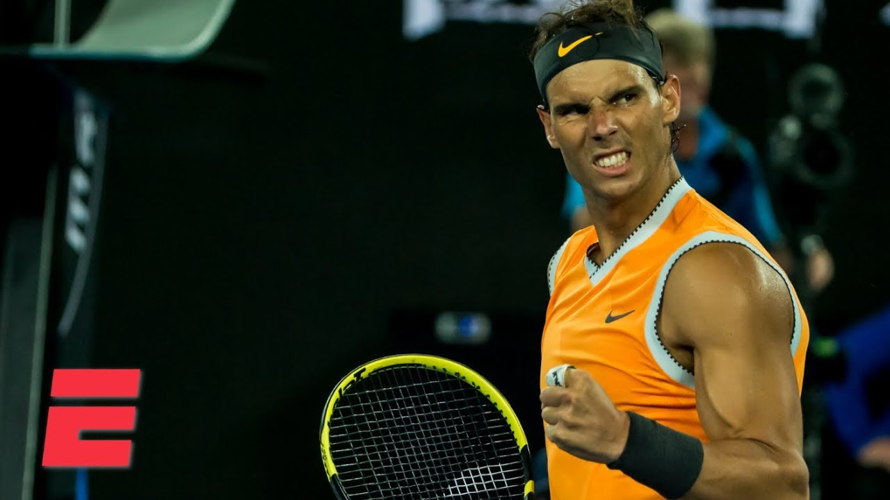 Rafael Nadal beats Frances Tiafoe in straight sets | 2019 Australian Open Highlights