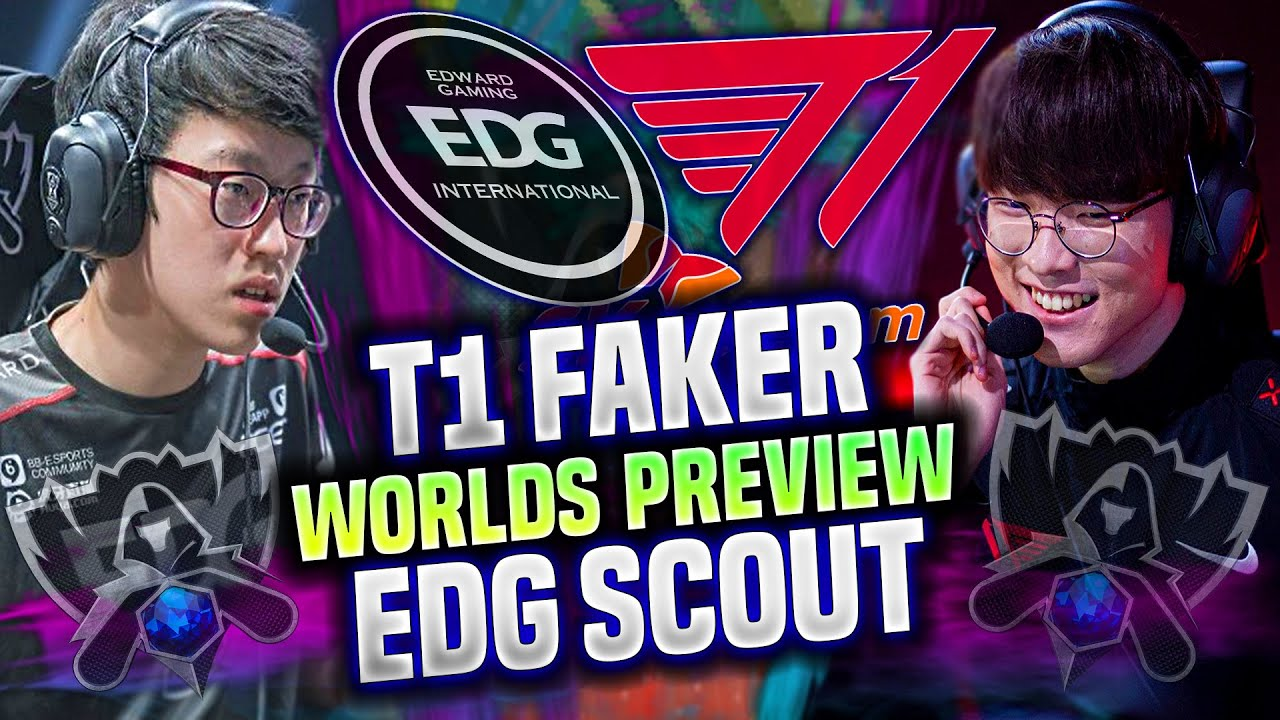 FAKER vs SCOUT 🔥THE CLASSIC PREVIEW BEFORE WORLDS!🔥 - T1 Faker Leblanc vs EDG Scout Lissandra!
