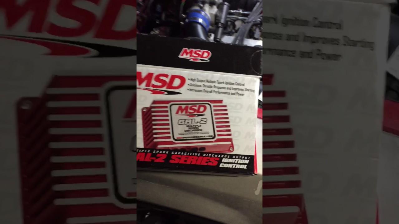 Installing New Msd 6al 2 On Fox Body Mustang Youtube