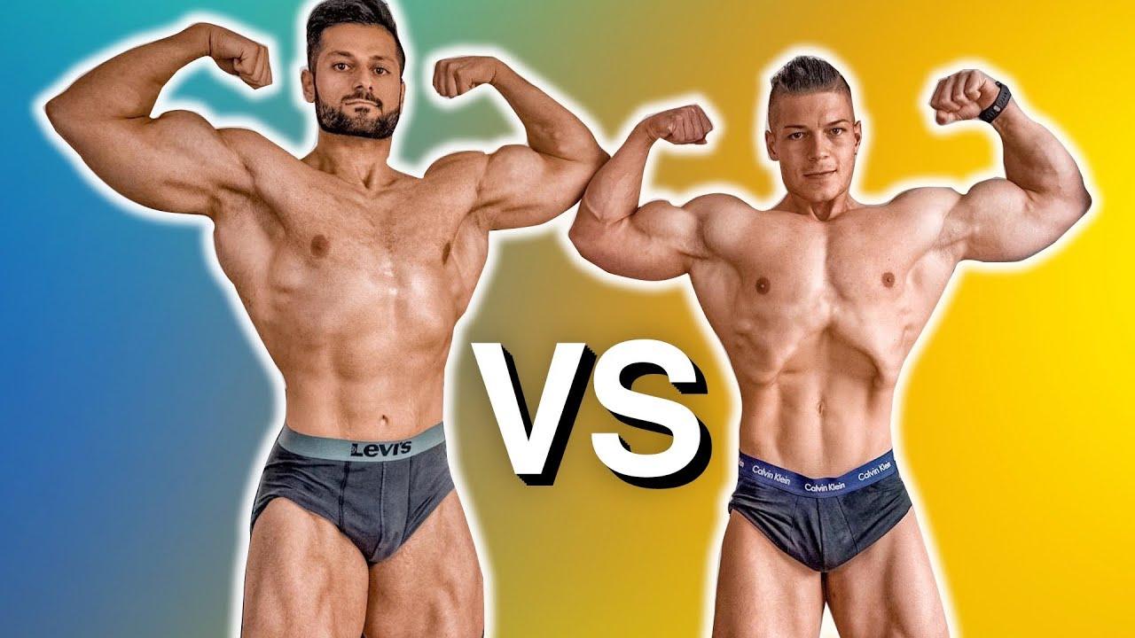 Dieser Pro Bodybuilder fordert mich heraus! (HILFE ICH WERDE FLACH!)