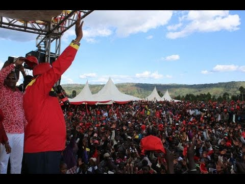Highlights of the Jubilee Party rally in Bomet Green Stadium
