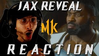 Mortal Kombat 11: Jax Reveal Trailer (REACTION!)